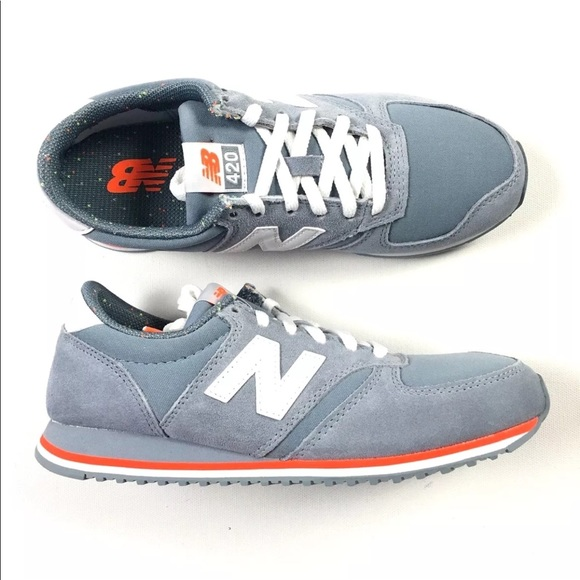new balance 420 grey orange